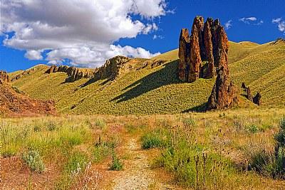 Ancient Volcanic Monolith