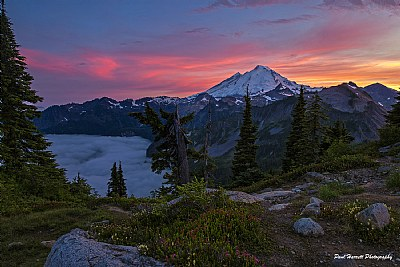 Mt Baker Sunset