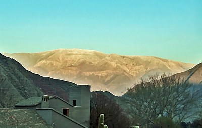Village & Mountain