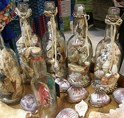 Shells in a Bottle