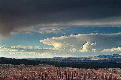Dramatic Clouds, Bryce Canyon