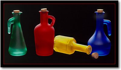 More Colored Bottles